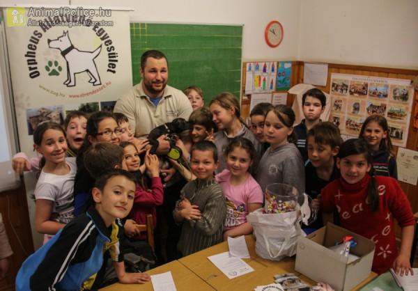 Iskolai oktatás az állatvédelemért